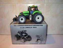 Deutz-Fahr trekker, type: Agrotron 210, LCN model, Zwolle, 2004